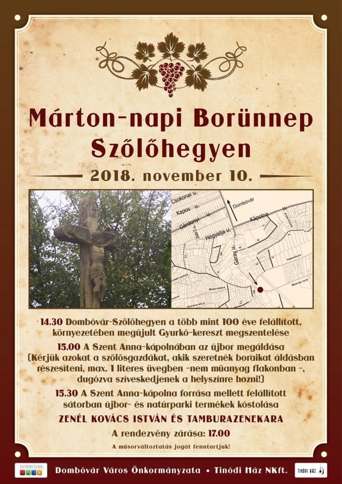 Márton-napi Borünnep Szőlőhegyen