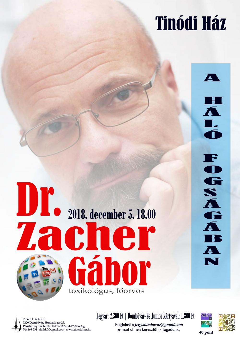 Dr. Zacher Gábor előadás