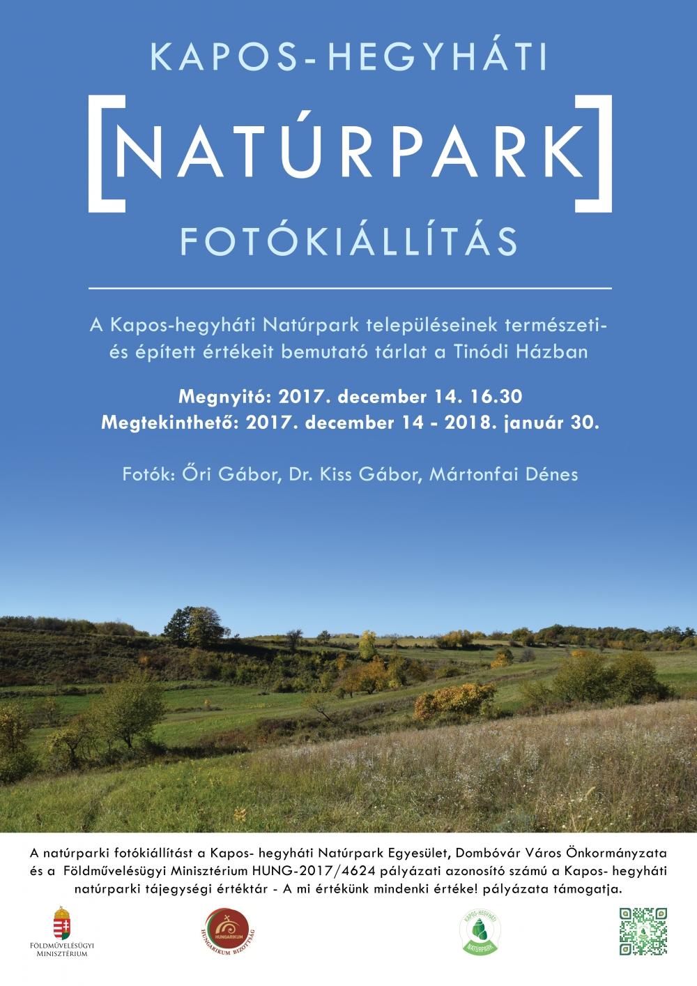 Kapos - hegyháti Natúrpark fotókiállítás