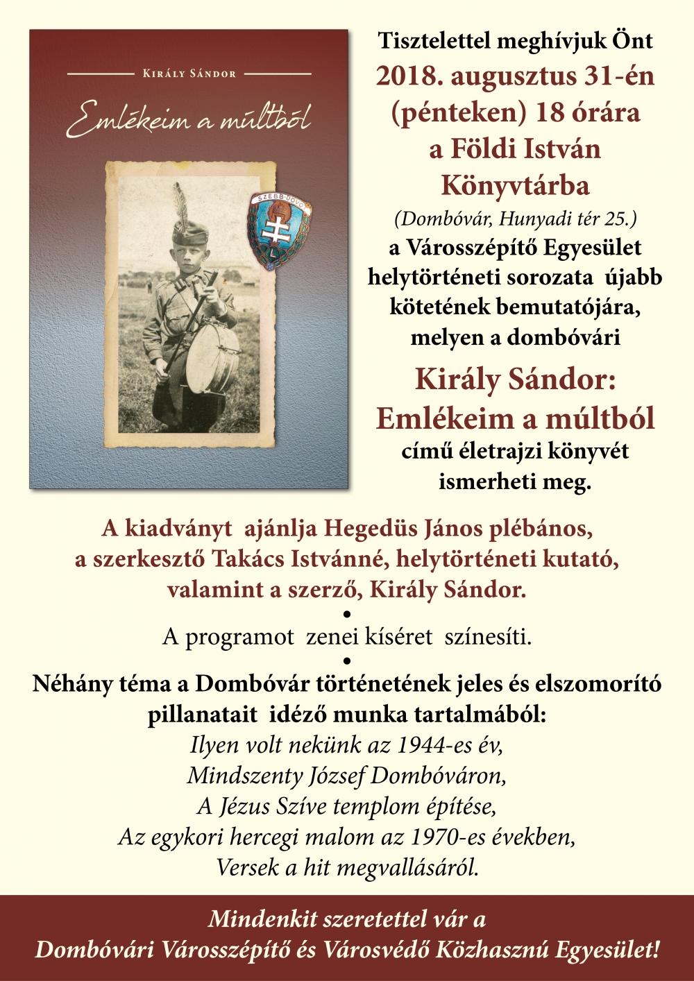 Könyvbemutató a Földi István Könyvtárban