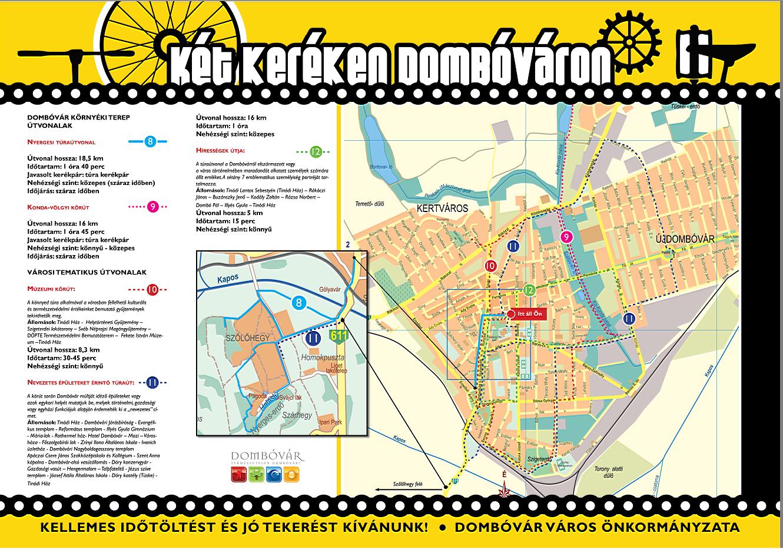 dombóvár térkép Kiadványok   Dombóvár város honlapja