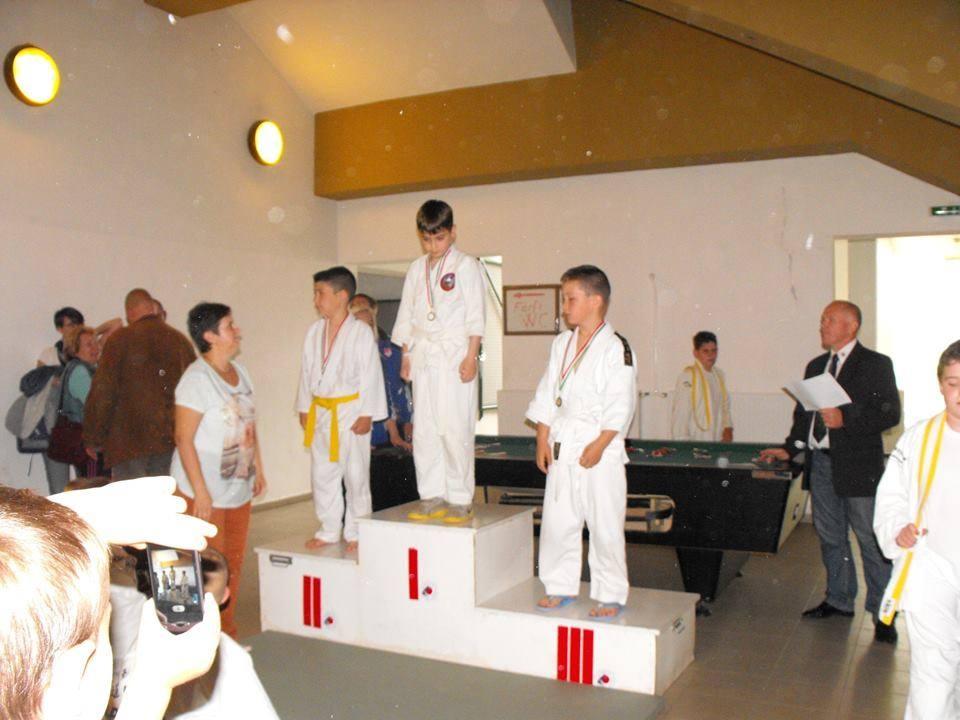 Mohácson jártak judosaink