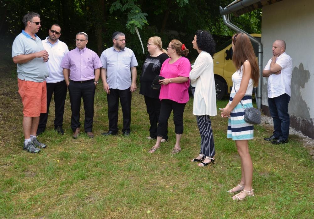 Izraeli vendégek Dombóváron