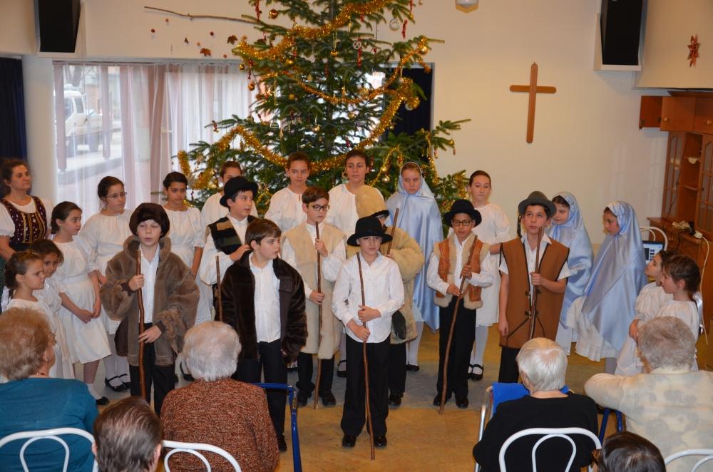 Karácsonyi műsor az Aranysziget otthonban