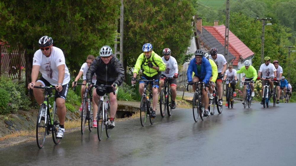Kerékpáros delegáció a testvérvárosból
