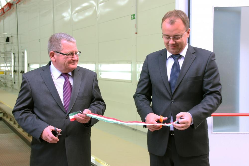 Új dombóvári műhelyt adott át a MÁV