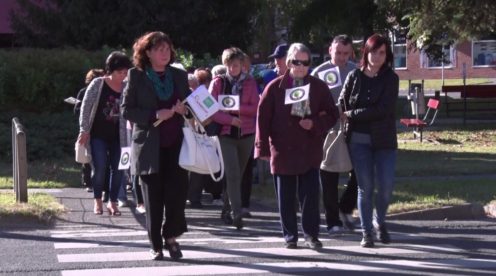 Figyelemfelhívó séta a demenciában szenvedőkért