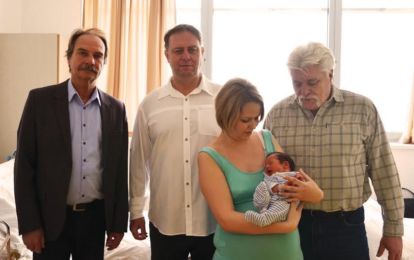 Dombóváron született az év első Tolna megyei babája