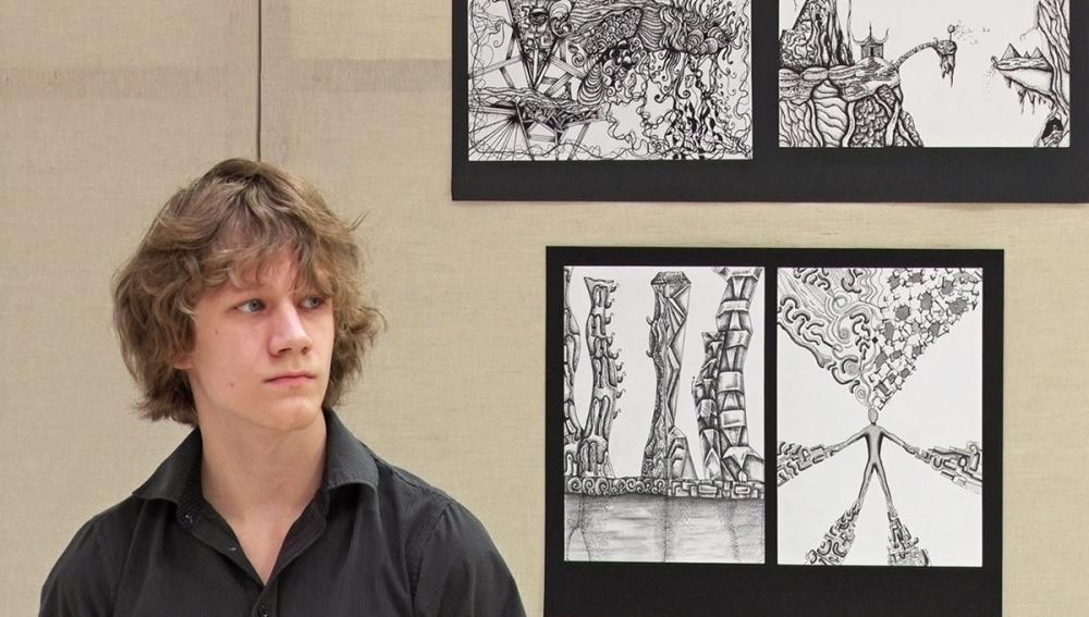 Első kiállítása nyílt Kecskés Andrásnak
