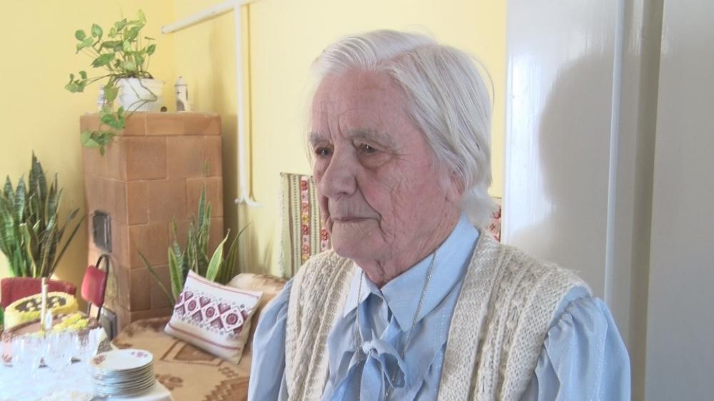 Manci néni 90 évesen is jó egészségnek örvend