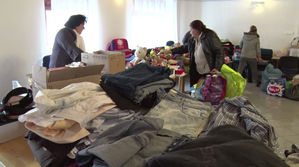 Több mint száz helybeli rászoruló kapott segítséget