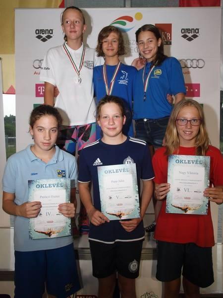 Gyenei Anna kétszeres magyar bajnok