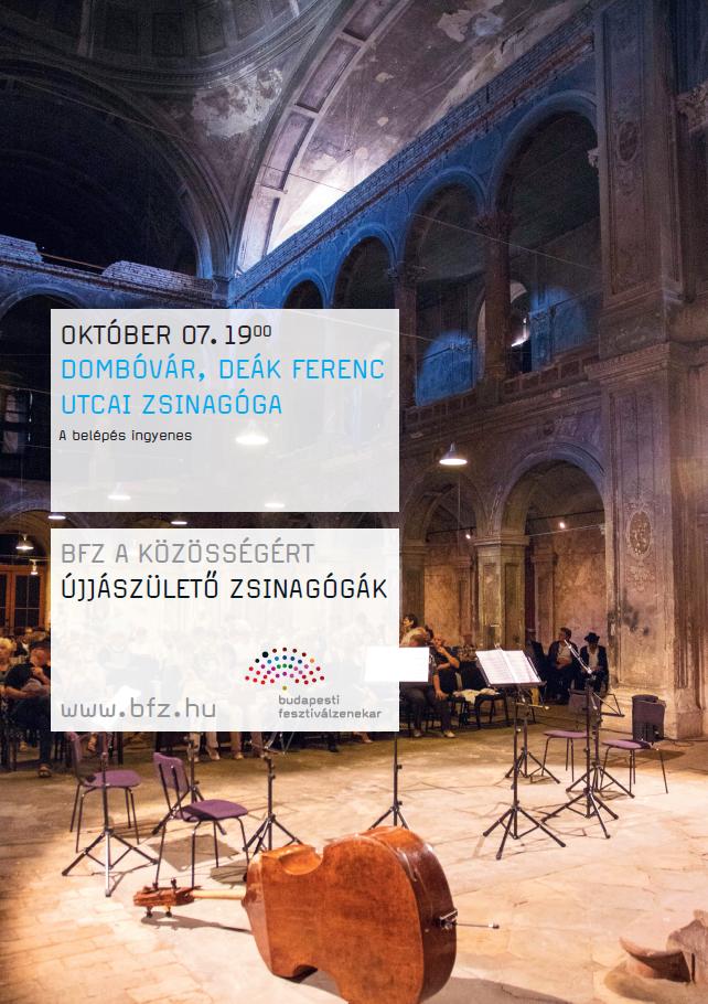 Komolyzenei koncert az egykori zsinagógában
