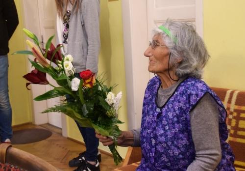 90 éves lett Margit néni