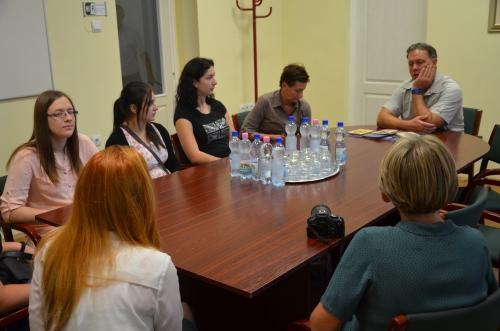 Szerbiából érkeztek diákok