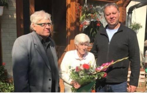 90 éves lett Retek Istvánné