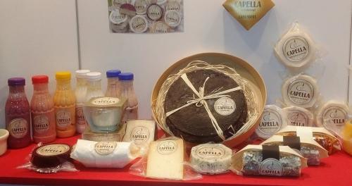 A kecsketejből készített Capella sajtok remekek