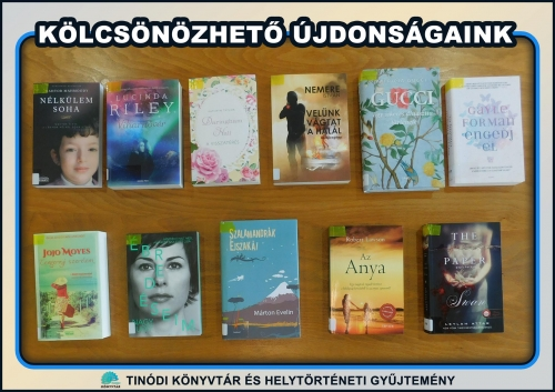 Új könyvek a bibliotékában