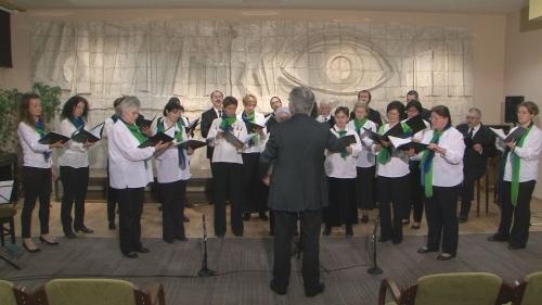 Kortárs zeneszerzők műveit énekelték