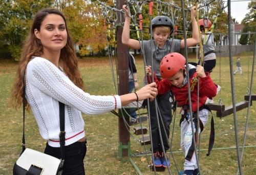 Mobil kalandparkot próbáltak ki az óvodások és a diákok